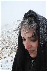 Now ....snow (JaB IZ) Tags: mountain snow cold art fall girl friend university iran climbing azar  shahr    azarbayjan  jabiz marand meshkin   shafieuon     mishoo