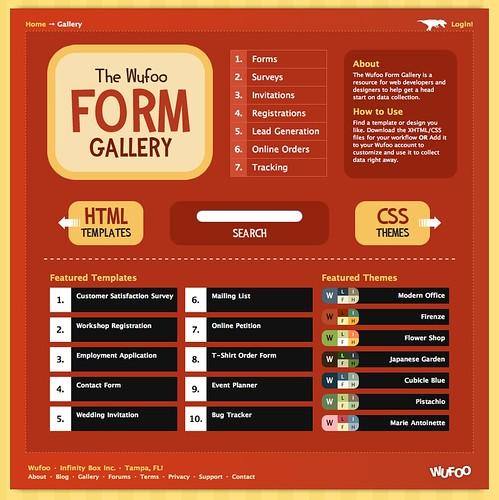 Wufoo Form Gallery