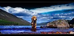 Mac, Loch Muick (Craig Robertson) Tags: 1025fav scotland mac explore soe lochmuick anawesomeshot aplusphoto balliter
