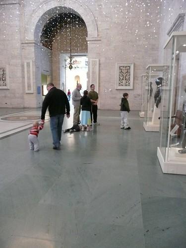 Ella at the Museum