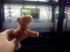 Tigger on the subway 2
