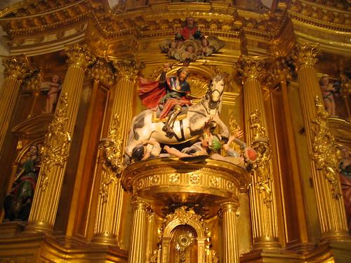Cathédrale de Burgos: St Jacques (XVIIIème s.)