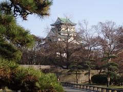 初めて撮った大阪城
