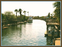Padre Island, Texas - #2 (dog.happy.art) Tags: water canal dock texas padreisland neverbeenthere tropicallife