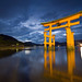 厳島神社:Torii @ Dusk
