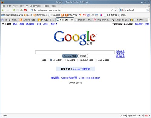 Screenshot-Google - Mozilla Firefox 3 Beta 2-1