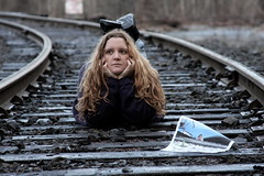 Day 371: It's Cool to Fake Romances (amanky) Tags: railroad usa selfportrait beautiful oregon print interestingness awesome tripod great explore mostinteresting vans ontheground 2008 timer creamofthecrop hoodriver railroadtracks week53 amancay maahs day371 canonef28135mmf3556isusm creamofthecropmostinteresting cotcmostinteresting rachelk 365days january6 interestingness22 i500 366days 365daysjanuary 365daysjanuary6 365dayssunday january2008 365dias 365das 365more 365alumni sisterhoodofthetravelingshoes facebookicon 365daysweek53 365daysjanuary2008 365days2008 humanshutterrelease january62008 inspiredbyrachelk 365daysday371 explore6jan08 january6200822 365daysjanuary62008 dwcffselfies