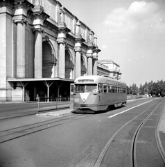 Streetcar at Union Station, Washington, DC