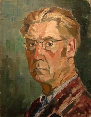 Gustaf Svensson - Självporträtt
