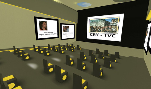 CRY Auditorium in SL