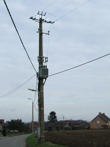 Transformer pole