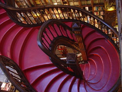 The Stairs... (stukinha) Tags: world red portugal beautiful shop architecture stairs facade for book design store cool arquitectura francisco europa europe sale maroon library steps rail bookstore most mais porto staircase douro bonita irmo inside rua das xavier neogothic 1906 bookshop fachada litoral portuguese shelves top20arch mundo trolleys ernesto guardian terceira theguardian escaleras whimsical bookstores lello livraria 144 the stuka carmelitas 3way 1869 pennsulaibrica esteves preciosas neogtica challengeyou challengeyouwinner 3waychallenge chardron flickrchallengewinner stukinha photofaceoffwinner thechallengegame challengegamewinner friendlychallenges anacompadre thechallengefactory
