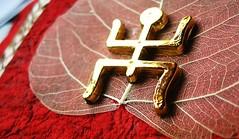 IMG_1437 (operian) Tags: wedding red macro glitter canon gold golden leaf widescreen swastika wide marriage dry powershot invitation card info vein hindu invite greeting vain bengali svastika auspicious a550 macrophotosnolimits operian