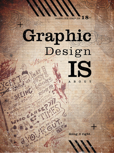 What is Graphic Design? Poster