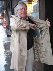 2008_02_14_air_dynamac_4 (dsearls) Tags: nyc newyork rain laptop air trenchcoat brittblaser macbook appleair macbookair