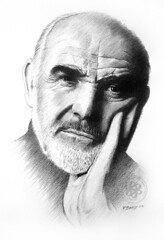 Sean Connery 02 (pbradyart) Tags: portrait bw art pencil sketch artwork artistic drawing expression connery artisticexpression passionphotography 25faves mywinners anawesomeshot impressedbeauty aplusphoto superbmasterpiece diamondclassphotographer flickrdiamond exquisiteimage