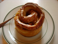 Cinnamon Roll, Nielsen's, Queen Anne, Seattle