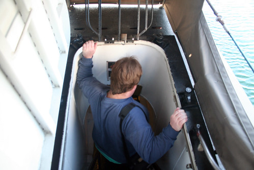 Down the Entrance Ladder