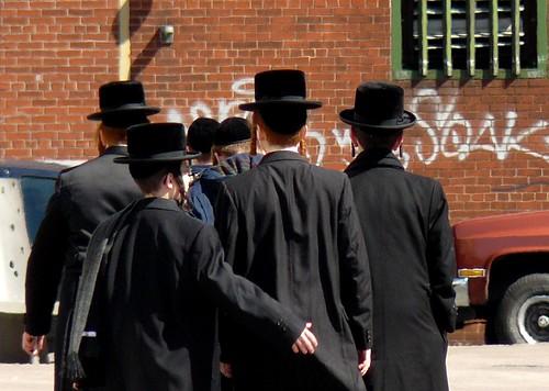 hasidic men