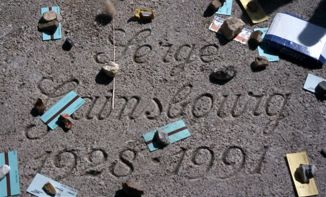Serge Gainsbourg Grave