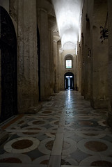 from Greece via Rome into the light (L_) Tags: italy church architecture religious greek temple ancient italia catholic cathedral interior columns syracuse sicily duomo palimpsest sicilia siracusa doric ortygia explored