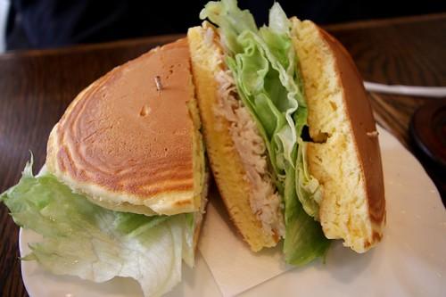 tuna sandwich hotcake