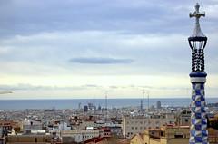Barcelona - Parc Gell (Xver) Tags: barcelona parque espaa gaudi modernismo gell parquegell nikond40