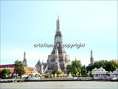 Wat Arun (Temple of the Dawn) - Bangkok, Thailand (cristiano1973) Tags: boys thailand temple market bangkok buddha monk tuktuk nightlife watarun thaifood chaophrayariver patpong recliningbuddha templeofdawn samutprakan krungthep thecityofangels watphot