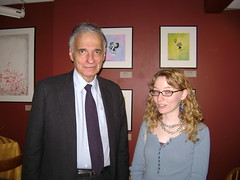 Me and Ralph Nader IN FRONT OF MY ARTWORK AT ROCK HILL!!!!!!!!