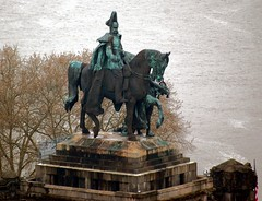 Koblenz Deutschland - The German Emperor William I Monument (mbell1975) Tags: sculpture horse monument statue river germany deutschland europa europe with william german rhine rhein equestrian emperor koblenz mosel the i