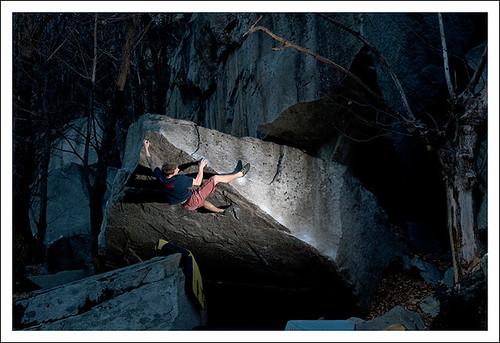Bouldering: Martin Keller in Confessions 8B+, Cresciano