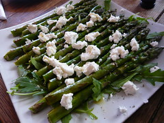 Asparagus and cheese