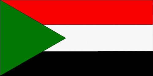 Official flag of Sudan