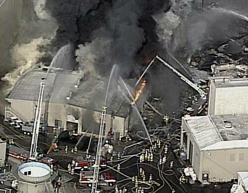 Universal Studios bomberos en acción