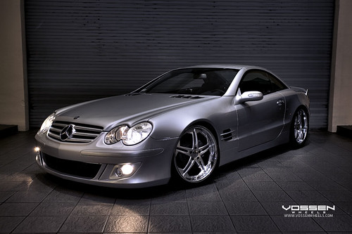 Mercedes Sl500 Wheels. Mercedes Benz SL 500 on VVS075