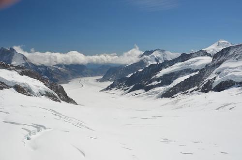Aletschgletscher,Jungfraujoch,Switzerland