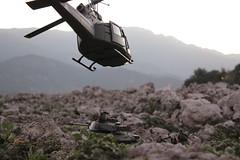 Route to Ho Chi Minh (Blackblast) Tags: 21stcenturytoys 118 vietnam uh1c uh1b ultimatesoldier bbi tank toys