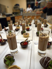 Chocolate Three Ways @ Deering Society Recognition Dinner, Northwestern University