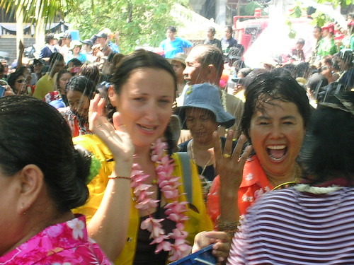 The scared, and fun, water festival of Songkran