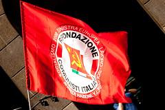 _MG_0074 (Teo S.) Tags: milano flags piazza comunista manifestazione partito liberazione 25aprile antifascismo bersani