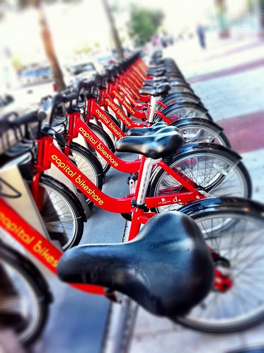 Capital Bikeshare cycles