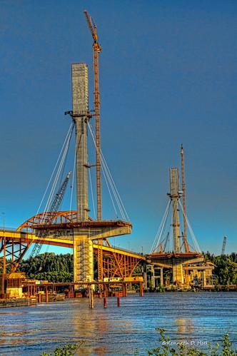 Port Mann/ Gateway project month 24 HDR