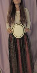 IMG_4789 (afreesoul) Tags: brown white black blur girl shirt hair long purple skirt nails hate bohemian backround