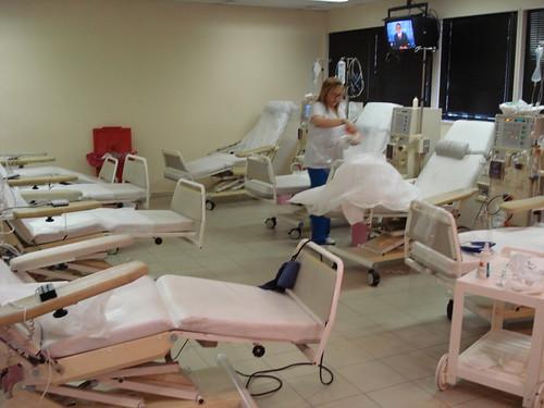 Centro de diálisis del Hospital Alemán de Buenos Aires