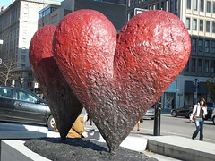 Hearts at Montreal Musee des beaux-arts