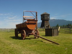 machinery (Fort Steele, British Columbia, Canada) Photo
