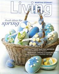 Martha Stewart Living April 2006 (markuswilliamstadt) Tags: show home magazine design living tv martha domestic stewart