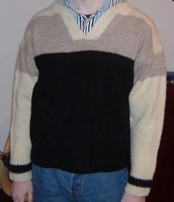 Wearing Original Sport Sweater