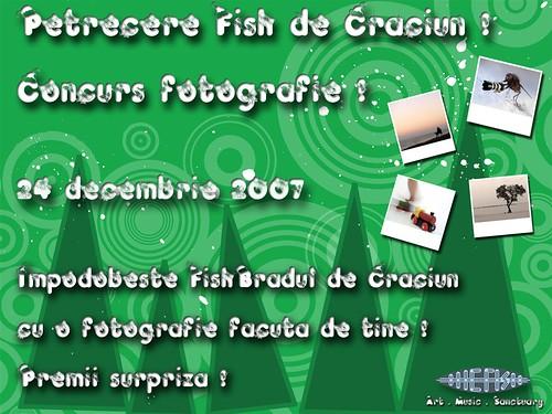 the fish petrecere craciun