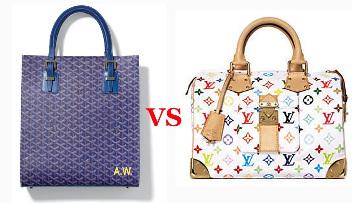 it bag, goyard, louis vuitton, fake, chic and charming